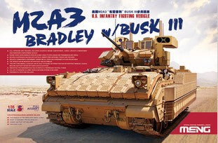 "MENG SS-004 M2A3 BUSK III ""Bradley"" infantry fighting vehicles"