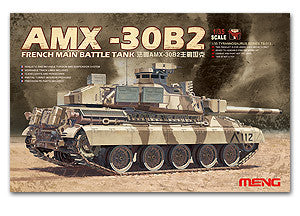 MENG TS-013 French AMX-30B2 main battle tanks