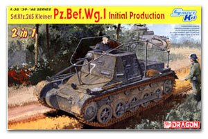 1/30 scale model Dragon 6597 Sd.Kfz.265 No. 1 light command chariot early production type