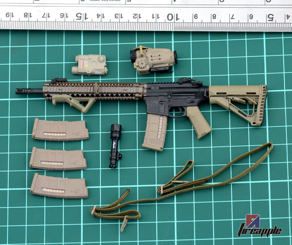 KNL HOBBY Action Figure  1/6 Soldier Accessories US MARSOC Marine Corps Special Combat Mission Master M4 Full Model