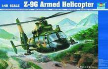 Trumpeter 1/48 scale model 02802 China straight -9G armed helicopter