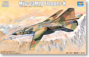 "Trumpeter 1/32 scale model 03211 MiG-23MLD ""whip K"" fighter *"