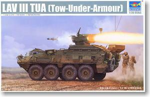 Trumpeter 1/35 scale model 01558 LAV-III wheeled armored vehicle tai arc anti-tank missile mounted type