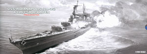ACADEMY 14113 CA-35 heavy cruiser Indianapolis -58 + Iranian submarine Limited Edition