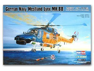 Hobby Boss 1/72 scale helicopter model aircraft 87239 German Navy Bobcats MK.88 shipborne multi-purpose helicopter