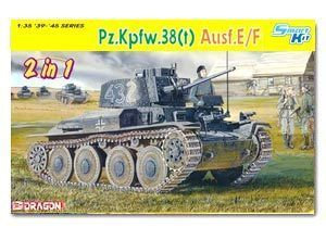 1/35 scale Dragon 6434 Pz.Kpfw.38 (t) Ausf.E / F (including internal structure)