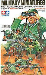 TAMIYA 1/35 scale models 35038 German Army Infantry Machine Gun Launch Group