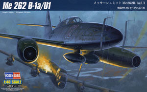 Hobby Boss 1/48 scale aircraft models 80379 Germany Me 262 B-1a-U1 fighters *