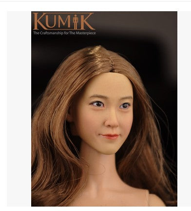 KNL HOBBY KUMIK 16-12 1/6 female head sculpt blonde hair