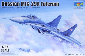 Trumpeter Scale military models 03223 MiG-29A Fulcrum Type A