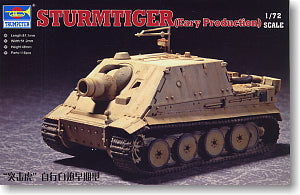 "Trumpeter 1/72 scale model 07274 6 heavy raid car""assault tiger"" pre-type"