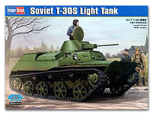 Hobby Boss 1/35 scale tank models 83824 Soviet T-30S light chariot