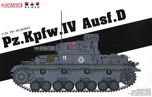 1/35 scale model Dragon 6873 Pz.Kpfw.IV Ausf.D (No. 4 tanker type D)