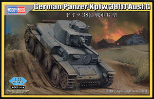 Hobby Boss 1/35 scale tank models 80137 Pz.Kpfw.38 (t) Ausf.G light chariot