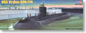 "Hobby Boss 1/350 scale models 83513 United States Ohio SSN-774 ""Virginia"" attack nuclear submarine"