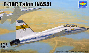 "Trumpeter 1/48 scale model 02878 US T-38C"" paw claw & trainer (NASA)"