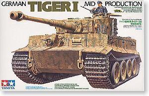 TAMIYA 1/35 scale models 35194 6 heavy truck tiger medium type