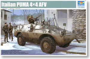 "Trumpeter 1/35 scale model 05525 Italy""4x4 wheeled armored vehicles"