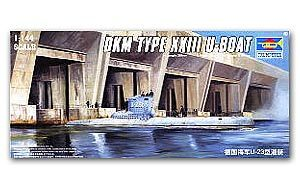Trumpeter 1/144 Scale military models 05907 German Navy XXIII type U boat