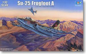 Trumpeter 1/32 scale model 02276 Su-25 Frogfoot A aircraft