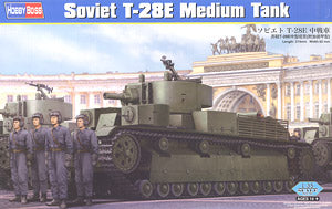Hobby Boss 1/35 scale tank models 83854 Soviet T-28E medium chariot attached armor type