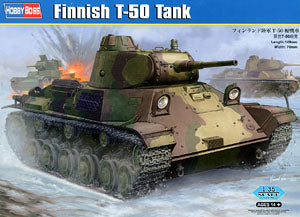 Hobby Boss 1/35 scale tank models 83828 Finland T-50 light chariot