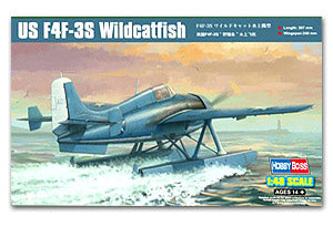 Hobby Boss 1/48 scale aircraft models 81729 F4F-3S Wildcat Carrier Fighter