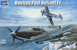Trumpeter Scale military models 02899 Boulton Paul Defiant F1