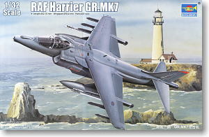 Trumpeter 1/32 scale model 02287 Royal Air Force Harrier GR.Mk.7 Attacker