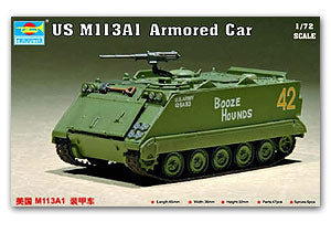 Trumpeter 1/72 scale model 07238 M113A2 armored vehicle