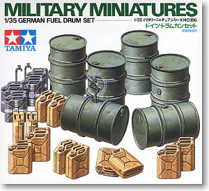 TAMIYA 1/35 scale models 35186 World War II German fuel and water containers
