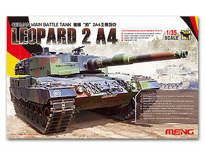 MENG TS-016 Leopard 2A4 main battle tanks