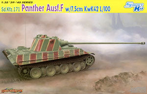 "1/35 scale Dragon 6799 Sd.Kfz.171 5 Fighter Panther F-type ""KwK.42 L / 100"""