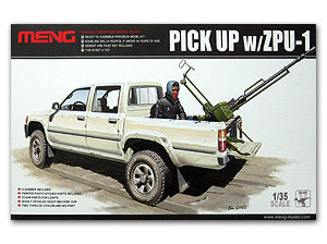 MENG VS-001 4X4 pickup truck carrying a heavy machine gun 14.5mmZPU-1