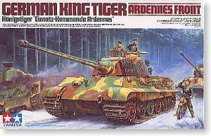 "TAMIYA 1/35 scale models 35252 6 heavy fighter tiger king type ""Arden front"""
