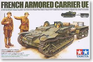 TAMIYA 1/35 scale models 35284 World War II French Army Renault UE Light Tracked Tractor