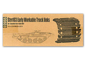 Trumpeter 1/35 scale model 02055 Strv103 Chariot Carcass with Movable Linked Track