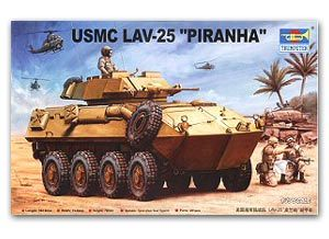 Trumpeter 1/35 scale model 00349 LAV-25 Piranha 8X8 Wheeled Amphibious Armored Reconnaissance Car