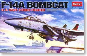"ACADEMY 12206 F-14A Tomcats carrier-based fighter ""VF-154 Black Knights"""