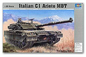 Trumpeter 1/35 scale tank models 00332 rams main battle tanks
