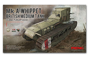 Stock now! MENG TS-021 British Mk.A whippet Medium Tank