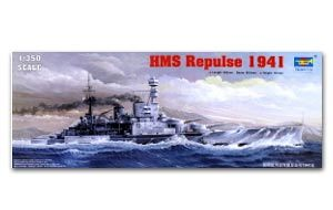 Trumpeter 1/350 scale model 05312 British Royal Navy prestige level counterattack battle cruiser