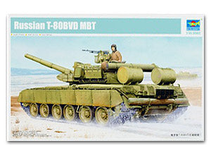 Trumpeter 1/35 scale tank model 05581 Russian T-80BVD main battle tank
