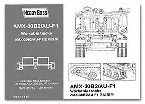 HOBBY BOSS 81010 AMX-30B2 / AU-F1 with stitching track