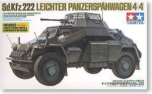 TAMIYA 1/35 scale models 35270 Sd.Kfz.222 4 round armored reconnaissance vehicle