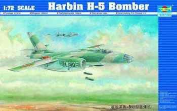 Trumpeter 1/72 scale model 01603 Harbin H-5 light bomber