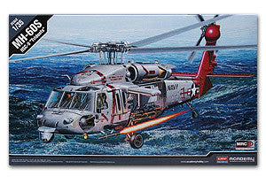 "ACADEMY 12120 MH-60S Knight Hawk utility helicopter carrier ""Trident"""