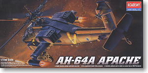 ACADEMY 2138/12488 AH-64A Apache attack helicopters