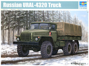Trumpeter 1/35 scale model 01012 Russian Ural-4320 6X6 off-road truck