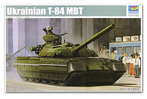 Trumpeter 1/35 scale tank model 09511 Ukrainian T-84 MBT
